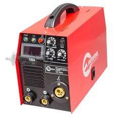 Полуавтомат сварочный инверторного типа комбинированный 7,1 кВт, 30-250 А., проволока 0,6-1,2 мм., э