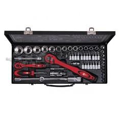 Профессиональный набор инструмента 1/2  1/4, 56 ед (гол. 4-32 мм, биты 18 ед.) INTERTOOL