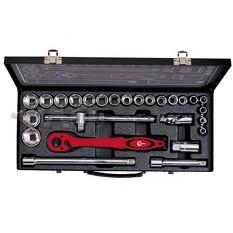 Профессиональный набор инструмента 1/2, 26 ед. (гол. 8-32 мм) INTERTOOL
