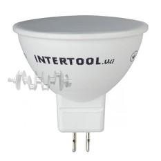 Светодиодная лампа LED 5Вт, GU5.3, 5Вт, 220В, INTERTOOL