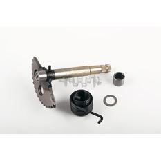 Сектор заводной (полумесяц)   4T GY6 125/150   (L-136mm)   (+пружина, втулки)