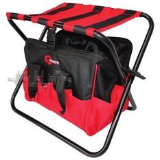 Складной стул с сумкой, универсальный до 90 кг 420 мм x 310 мм x 360 мм INTERTOOL