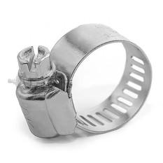 Хомут стальной оцинкованный 12,7 мм D 16-25 мм (упаковка 10 шт) INTERTOOL