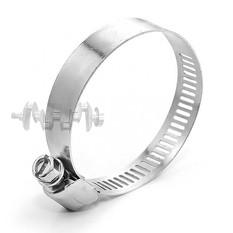 Хомут стальной оцинкованный 12,7 мм D 33-57 мм (упаковка 10 шт) INTERTOOL