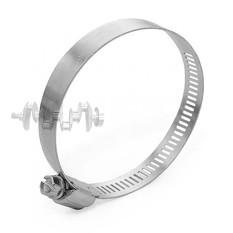 Хомут стальной оцинкованный 12,7 мм D 52-76 мм (упаковка 10 шт) INTERTOOL