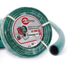 Шланг для полива 3-х слойный 1/2, 30 м, армированный PVC INTERTOOL