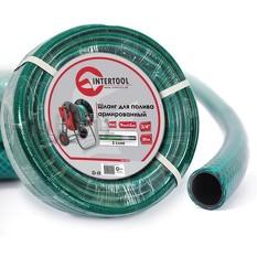 Шланг для полива 3-х слойный 3/4, 30 м, армированный PVC INTERTOOL