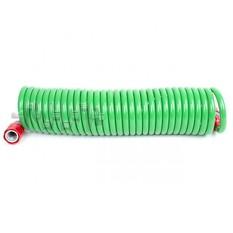 Шланг для полива спиральный 7,5 м с конекторами INTERTOOL