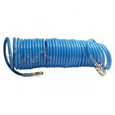 Шланг спиральный полиуретановый 5.5x8мм, 20м INTERTOOL