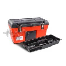 Ящик для инструмента с металлическими замками 19 483x242x240 мм INTERTOOL