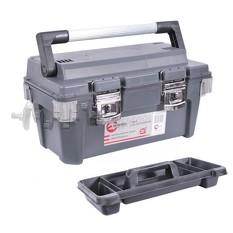 Ящик для инструмента с металлическими замками 20 500x275x265 мм INTERTOOL