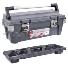 Ящик для инструмента с металлическими замками 25,5 650x275x265 мм INTERTOOL