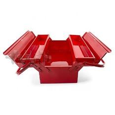 Ящик для инструментов металлический 450 мм, 3 секции INTERTOOL
