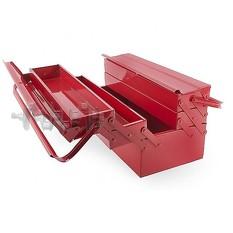 Ящик для инструментов металлический 450 мм, 5 секций INTERTOOL