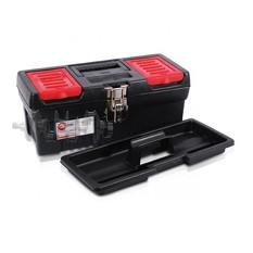 Ящик для инструментов с металлическими замками, 13 330x177x135 мм INTERTOOL