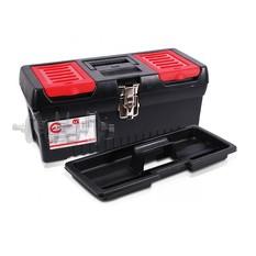 Ящик для инструментов с металлическими замками, 16 396x216x164 мм INTERTOOL