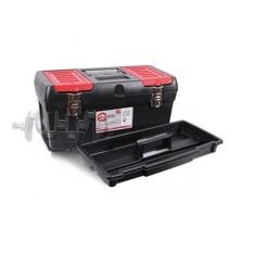Ящик для инструментов с металлическими замками, 19 483x242x240 мм INTERTOOL