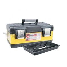 Ящик для инструментов с металлическими замками, 19,5 498x289x222 мм INTERTOOL