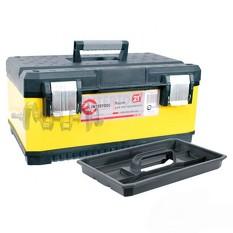 Ящик для инструментов с металлическими замками, 21 534x366x266 мм INTERTOOL