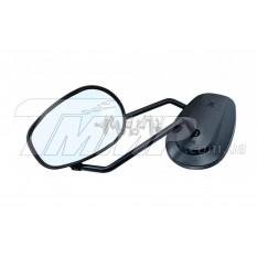 Зеркала мото овальные   (mod:61)   (черные, 10mm)   EVO