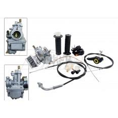 Карбюратор веломотор   (F50/F80)   (ручка газа, тросы)   EVO