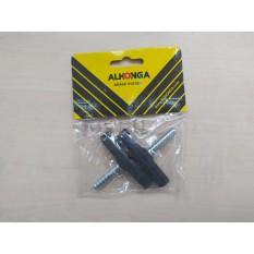 Колодки тормозные велосипедные (ободные, V-brake)   (ALHONGA)   BDRK