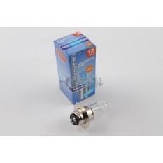 Лампа P15D-25-1 (1 ус)   12V 18W/18W   (белая)   RG