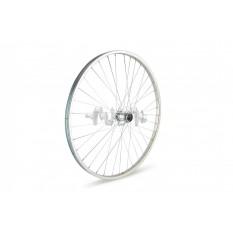 Обод велосипедный (в сборе)   28   (перед, 32 спицы)   (усиленный, обод цинк, спица 3мм)   ВОДАН   (