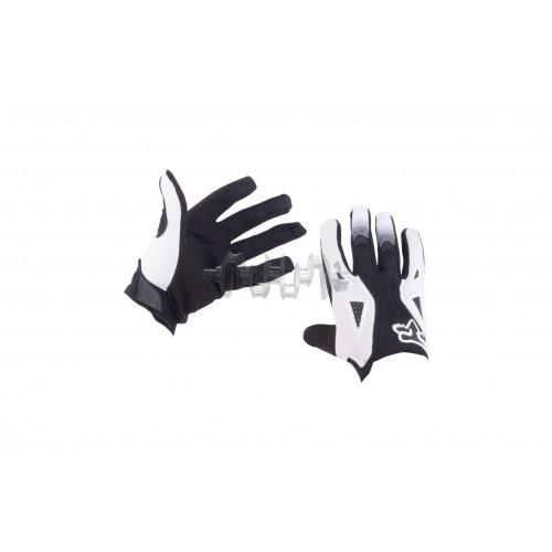 Перчатки DIRTPAW (mod:034, size:M, черно-белые) FOX арт.P-4846