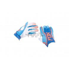 Перчатки DIRTPAW (mod:035, size:L, синие) FOX арт.P-4854