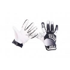 Перчатки DIRTPAW (mod:038, size:XL, черно-белые) FOX арт.P-4875
