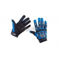 Перчатки FOX DIRTPAW (mod:027, size:M, синие) арт.P-4783
