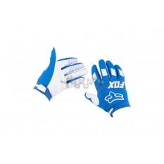 Перчатки FOX DIRTPAW (mod:030, size:M, синие) арт.P-4831