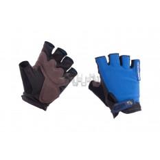 Перчатки без пальцев (size:L, синие) FOX арт.P-5004