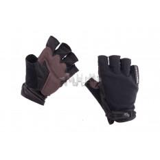 Рукавички без пальців (size: M, чорні) FOX арт.P-4999