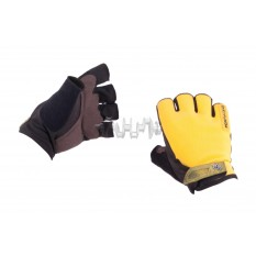 Перчатки без пальцев (size:XL, желтые) FOX арт.P-5009