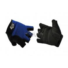 Перчатки без пальцев GLOVE (mod:Freeride, size:L, синие) FOX арт.P-851