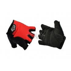 Рукавички без пальців GLOVE (mod: Freeride, size: XL, червоні) FOX арт.P-856